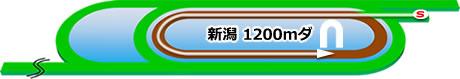 新潟競馬場の特徴ダート1200m